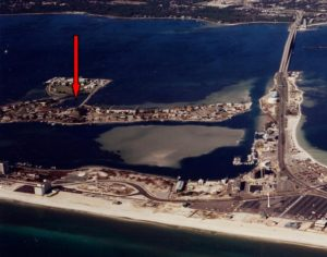 Pensacola Beach December 1996